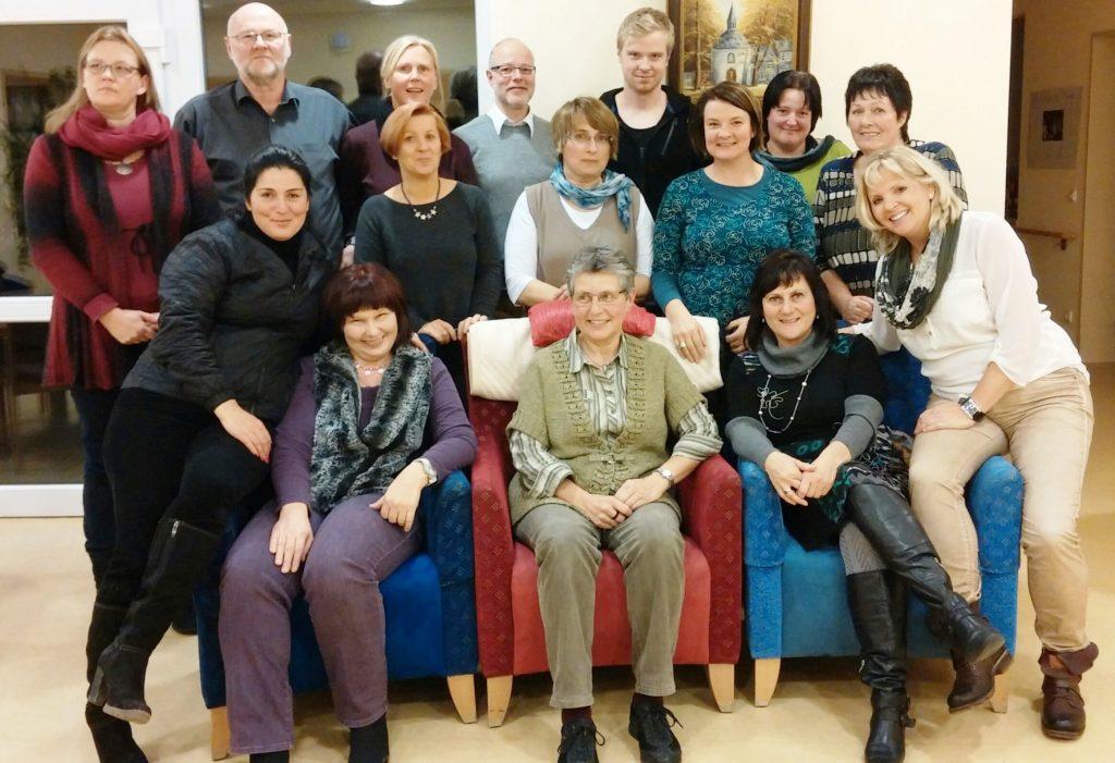 Hospitzhilfe Siegen Neue Ausbildungsgruppe 2014