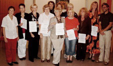 Hospitzhilfe Siegen Neue Ausbildungsgruppe 2008