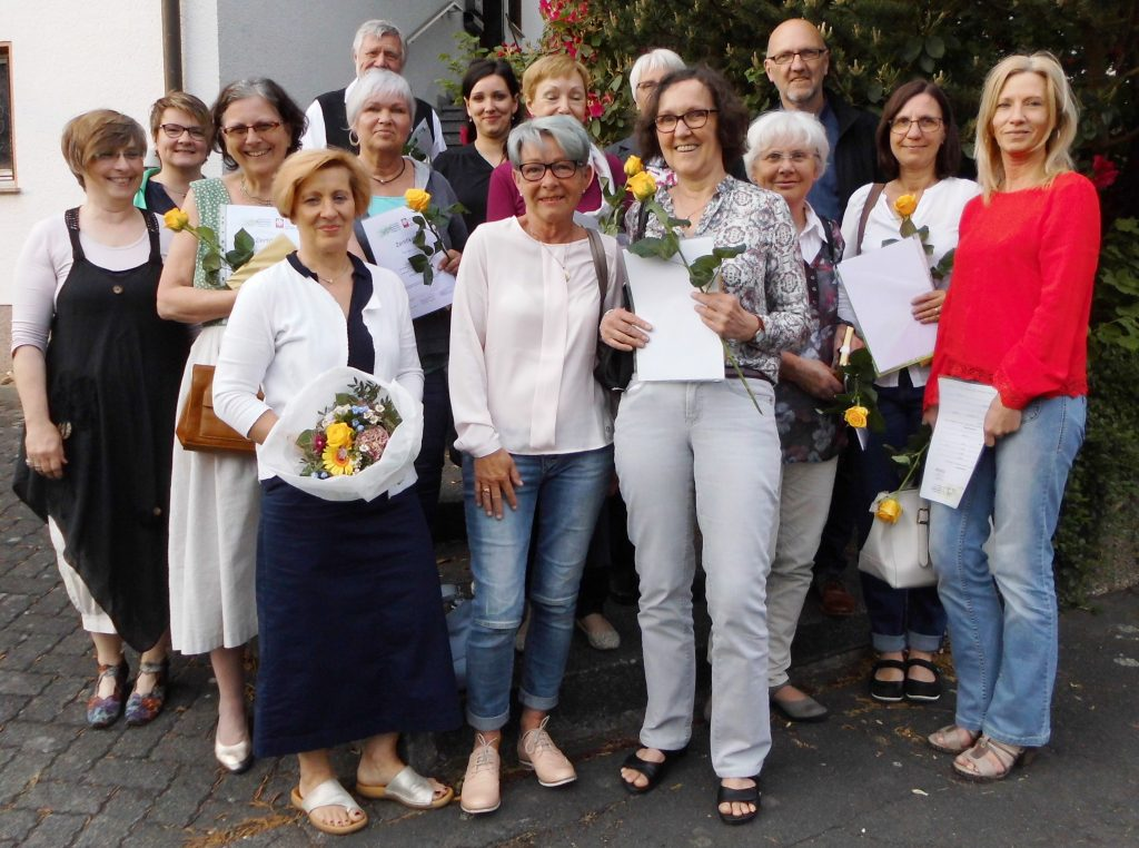 Hospitzhilfe Siegen Neue Ausbildungsgruppe 2016