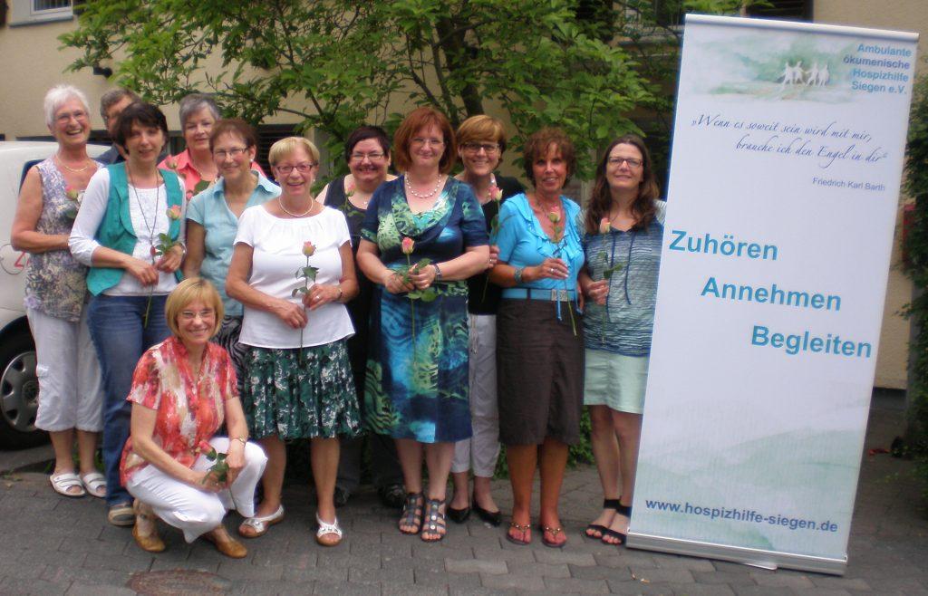 Hospitzhilfe Siegen Neue Ausbildungsgruppe 2013