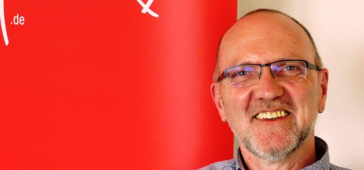 Wolfgang Ax, ehrenamtlicher Hospizmitarbeiter in der Ambulanten ökumenischen Hospizhilfe Siegen e.V.
