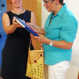 Ulla Krombach-Stettner, Koordinatorin für ambulante Hospizarbeit, in den Ruhestand verabschiedet